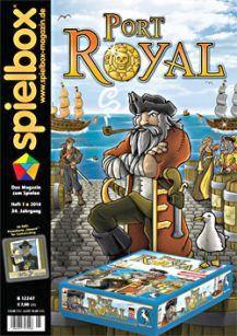 Spielbox 2014 Heft 1 (inkl. Promokarte Steuern)