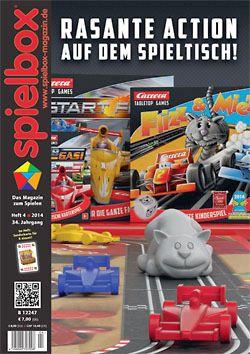 Spielbox 2014 Heft 4 (inkl. Mini-Erw. für 6 nimmt!)