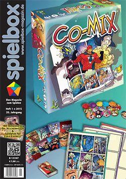 Spielbox 2015 Heft 1 (inkl. Erw. für Colt Expre...
