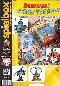 Spielbox 2015 Heft 2 (inkl. Erw. für Anno Domini)