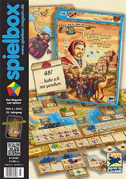 Spielbox 2015 Heft 3 (inkl. Erw. für Dixit)