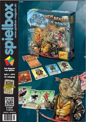 Spielbox 2015 Heft 7 (inkl. Promo für Die Glasstraße)