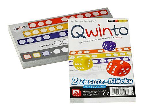 Qwinto: Zusatzblöcke (Erw.)