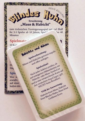 Blindes Huhn Maus & Habicht (Erw.)
