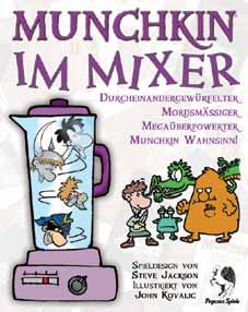 Munchkin im Mixer