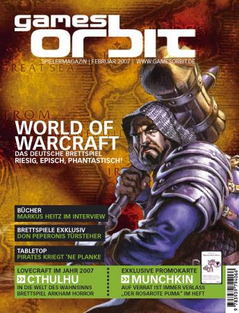 GamesOrbit 01 Februar 2007 (inkl. Promokarte Munchkin)