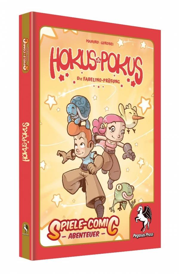 Spiele-Comic Abenteuer: Hokus & Pokus (Hardcover)