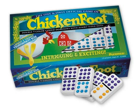 Chickenfoot - Double 9 Tournament Size (engl.)