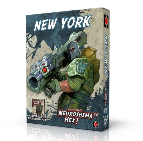 Neuroshima Hex: New York 3.0 (Exp.) (engl.)