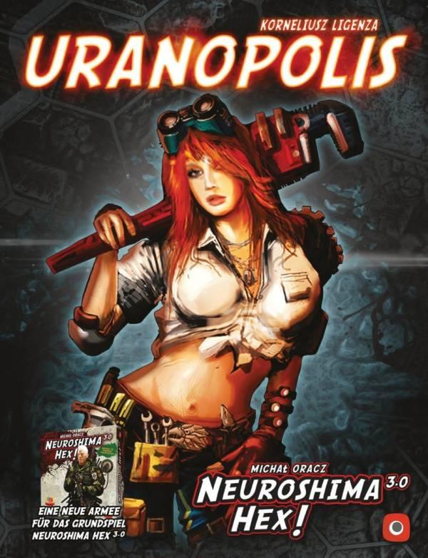 Neuroshima Hex: Uranopolis 3.0 (Erw.) (deutsch)