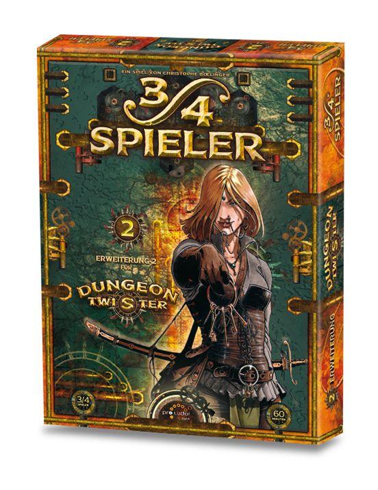 Dungeon Twister 3 - 4 Spieler (Erw.)