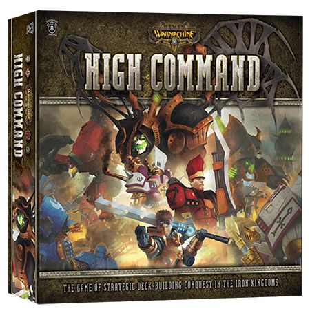 Warmachine: High Command Deck Building Game (engl.)
