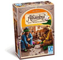 Der Palast von Alhambra: Das Würfelspiel