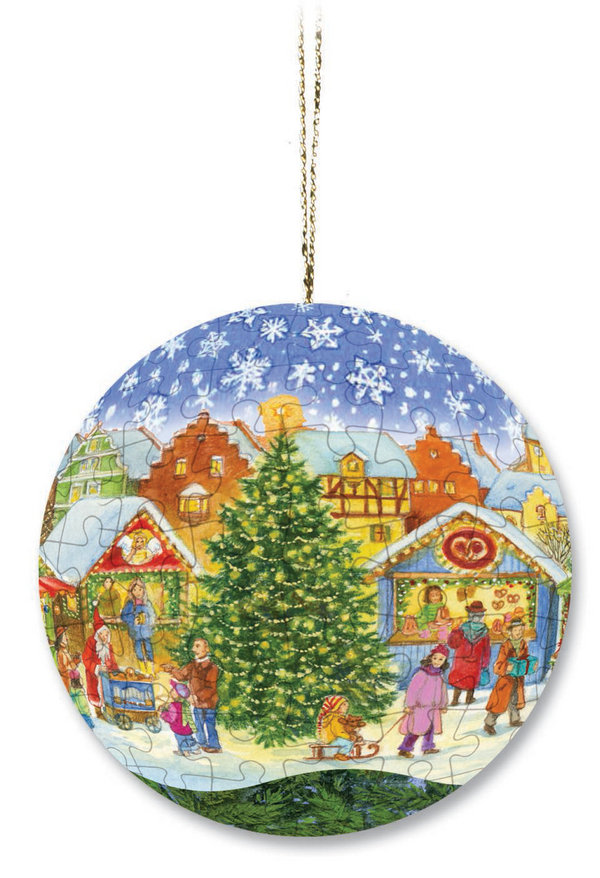 Christmas puzzleball 2005 - Weihnachtsmarkt (Weihnachten)