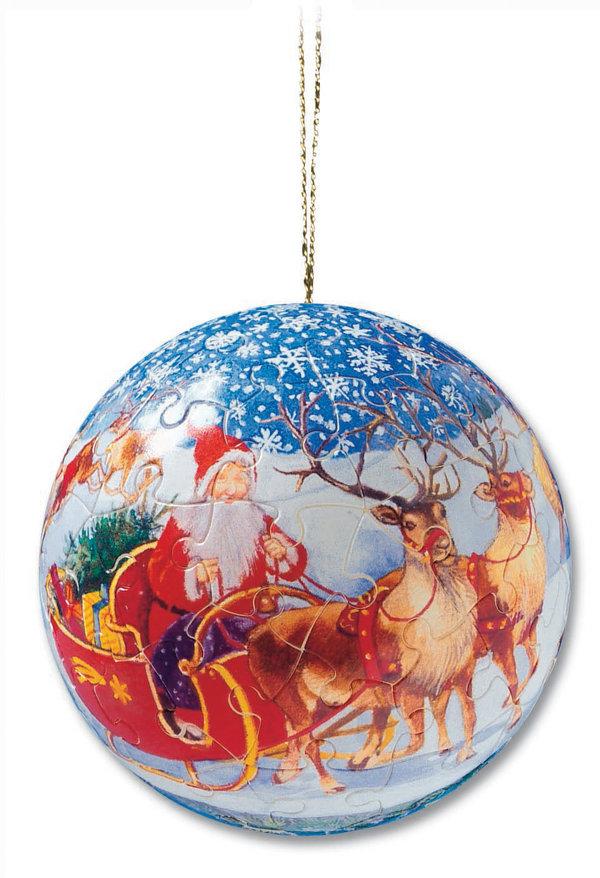 Christmas puzzleball 2005 - Schlitten (Weihnachten)