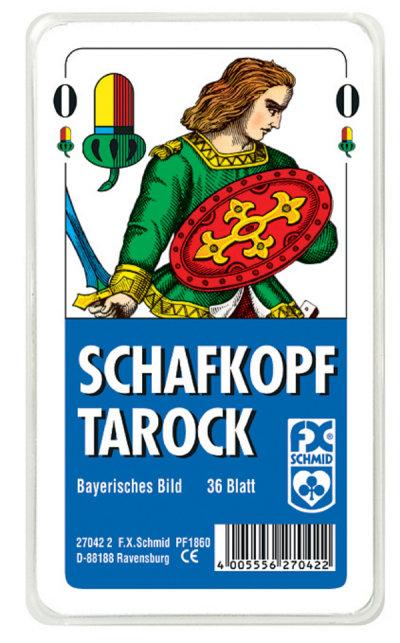 Schafkopf/Tarock (Glasklares Etui)