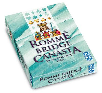 Romme, Canasta, Bridge (Luxuskartonschachtel)