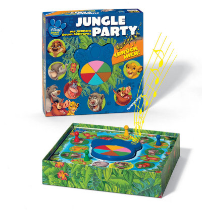 Animals Friends Jungle Party