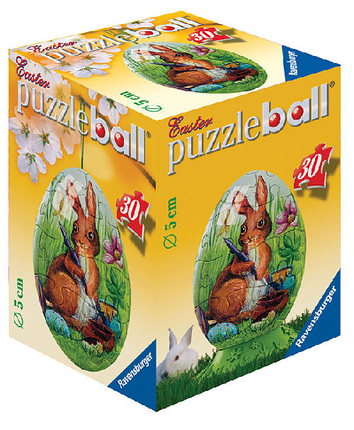 puzzleball - Ostern: Malender Osterhase (30 Teile)