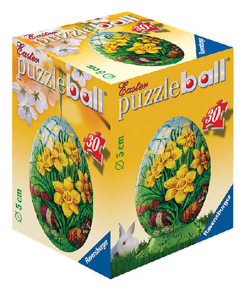 puzzleball - Ostern: Osterblumen (30 Teile)