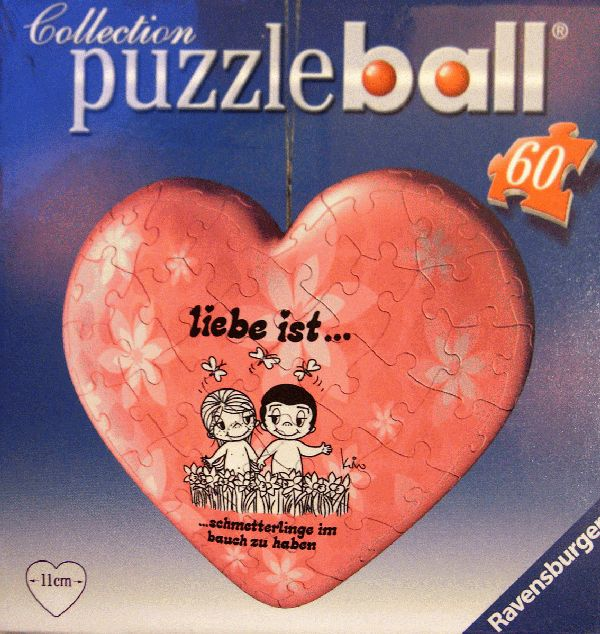 puzzleball - Liebe ist ... Schmetterlinge im Bauch zu haben (60