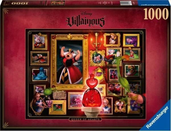 Puzzle: Villainous - Queen of Hearts (1000 Teile)