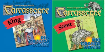 Carcassonne - King & Scout (engl.)