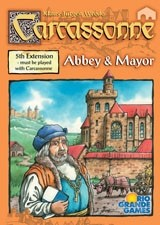 Carcassonne - Abbey & Mayor (engl.)