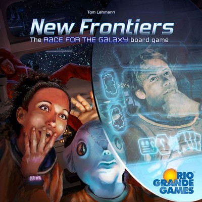 New Frontiers: The Race for the Galaxy Board Game (engl.)