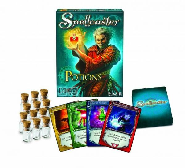 SpellCaster: Potions (Exp.) (engl.)