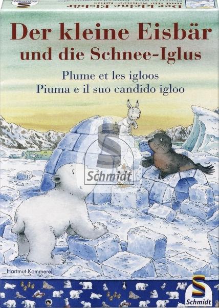 Der kleine Eisbär und die Schnee-Iglus