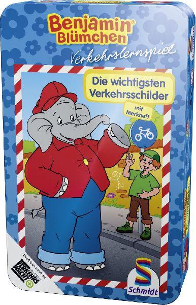 Benjamin Blümchen: Die wichtigsten Verkehrsschilder (Metalldose)