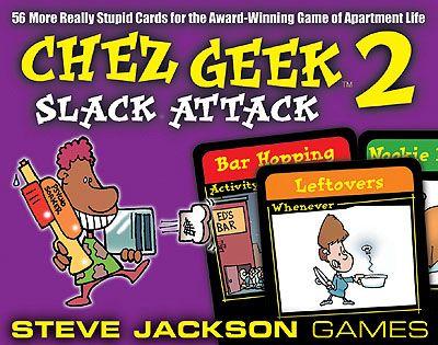 Chez Geek 2 - Slack Attack (engl.)