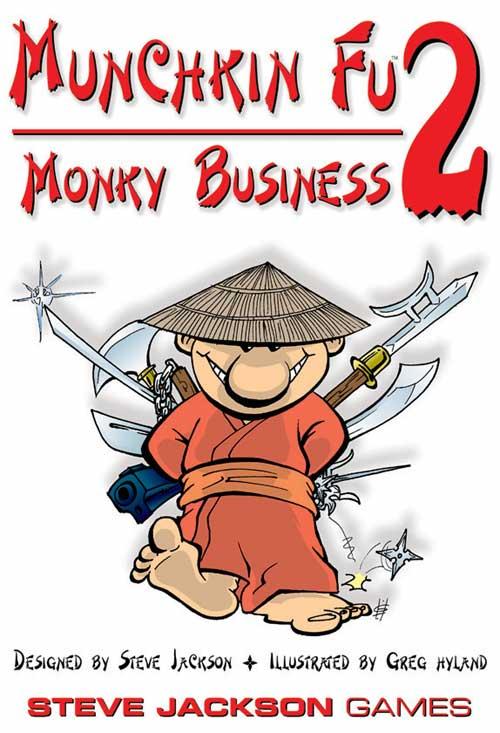Munchkin Fu 2: Monky Business (Erw.) (engl.)