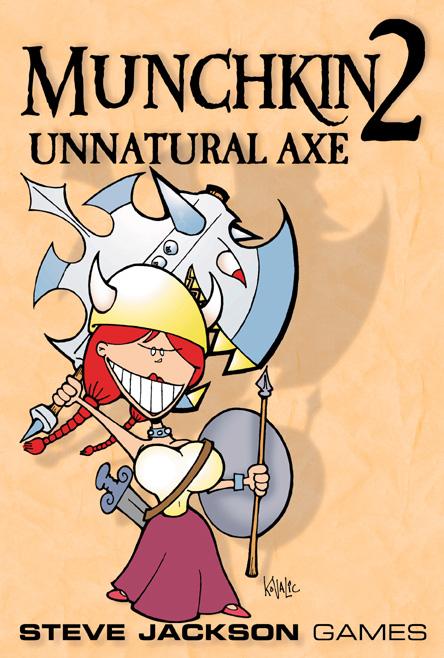Munchkin 2: Unnatural Axe (engl.)