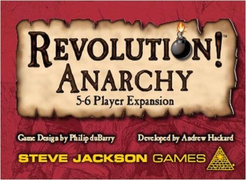 Revolution! Anarchy (5-6P.) (Exp.) (engl.)