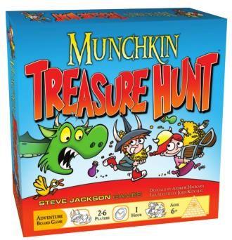 Munchkin Treasure Hunt (Exp.) (engl.)