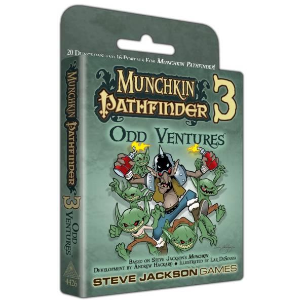 Munchkin Pathfinder 3 - Odd Ventures (engl.)