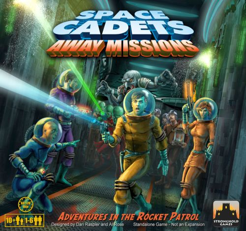 Space Cadets Away Missions (Exp.) (engl.)