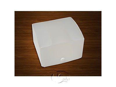 Deckbox transparent Größe XL