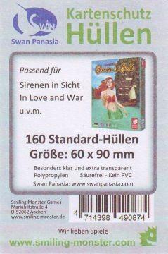 Kartenhüllen, 60mm x 90mm, 160 Hüllen, dünn 6014