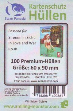 Kartenhüllen, 60mm x 90mm, 100 Hüllen, Premium 6111