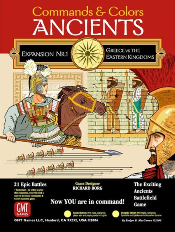 Commands & Colors: Ancients - Greece vs Eastern Kingdoms (Exp. 1