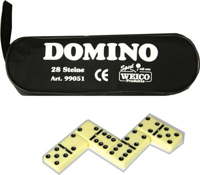Domino (mit Tasche)