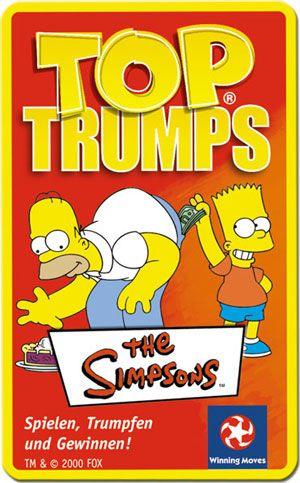 Top Trumps - Die Simpsons