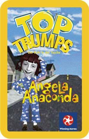 Top Trumps - Angela Anaconda