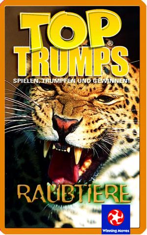 Top Trumps - Raubtiere