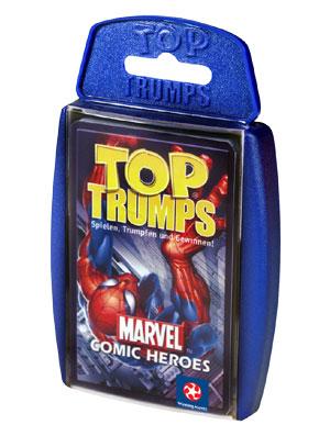 Top Trumps - Marvel Comic Heroes