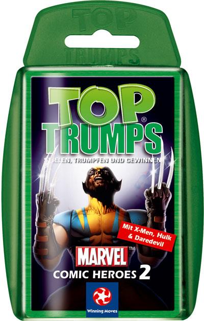 Top Trumps - Marvel Comic Heroes 2
