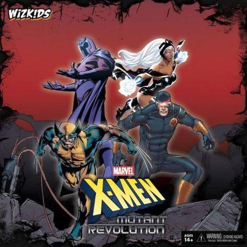 X-Men: Mutant Revolution Board Game (engl.)